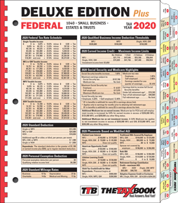The 2020 Tax Book Deluxe Edition. CLICK HERE!